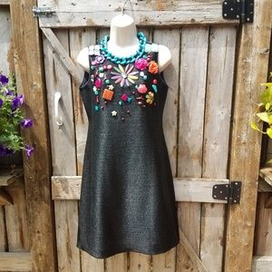 Moschino Cheap and Chic 8 Sea Embellished Dress